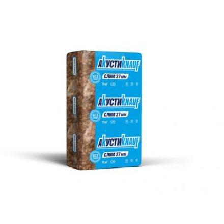 Утеплитель АкустиKnauf Слим (920x600x27мм, 20 плит, 11.04м2, 0.298м3)