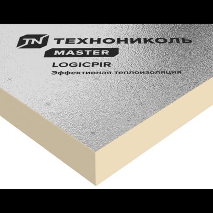 Плита теплоизоляционная LogicPir Балкон Ф/Ф 30мм 1200х600 (8 плит, 5.76м2, 0.169м3)