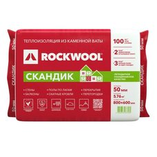 Rockwool Скандик 50мм