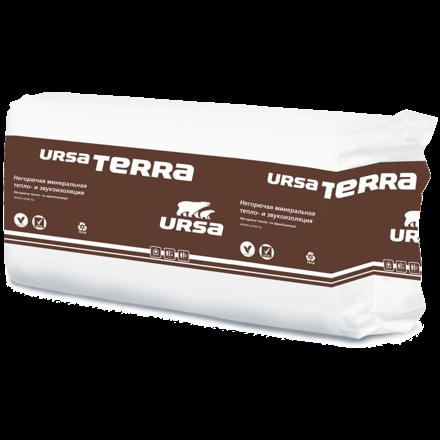 Утеплитель URSA Terra 37PN 50мм (1250х610х50мм, 20 плит, 15.25м2, 0.7625м3)