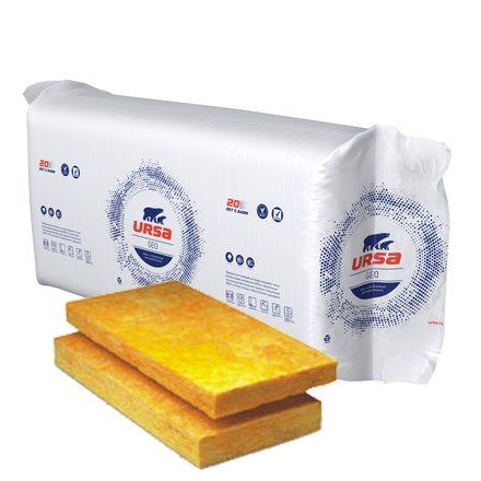 Утеплитель URSA GEO П-20 (1250x610x50мм, 24 плиты, 18.3м2, 0.915м3)