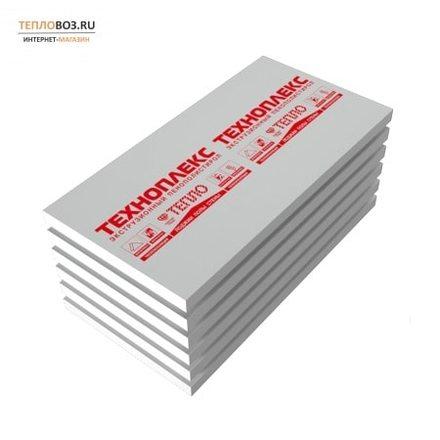 Экструдированный пенополистирол (XPS) Техноплекс (1180x580x50мм, 6 плит, 4.106м2, 0.205м3)