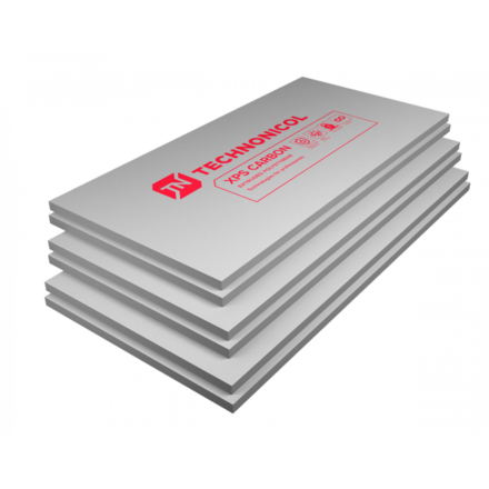 Экструдир. пенополистирол (XPS) ТехноНиколь Carbon Eco (1180х580х30мм, 13 плит, 8.897м2, 0.2669м3)