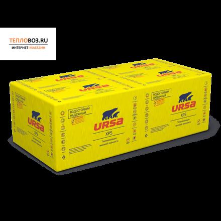 Экструд. пенополистирол Ursa XPS-N-III-L  (1200х600х20мм, 18 плит, 12.96м2, 0.2592м3)