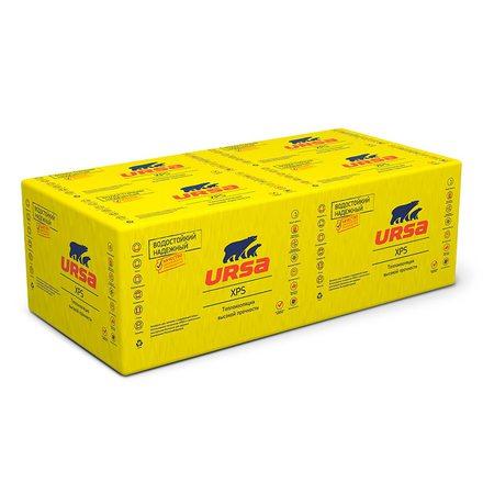 Экструдированный пенополистирол URSA N-II Cтандарт (1180x600x30мм, 12 плит, 8.496м2, 0.254м3)