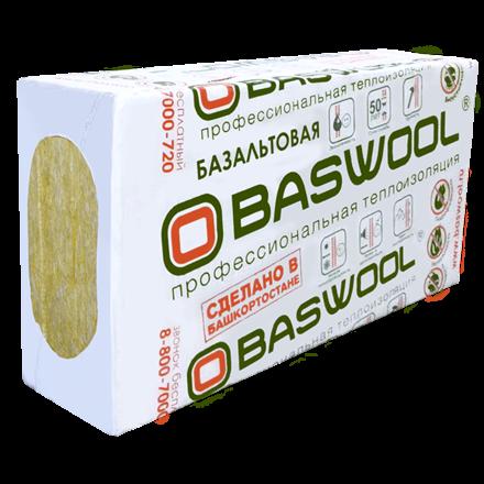 Baswool Лайт 45 (1200х600х50мм, 6 плит, 4.32м2, 0.216м3)
